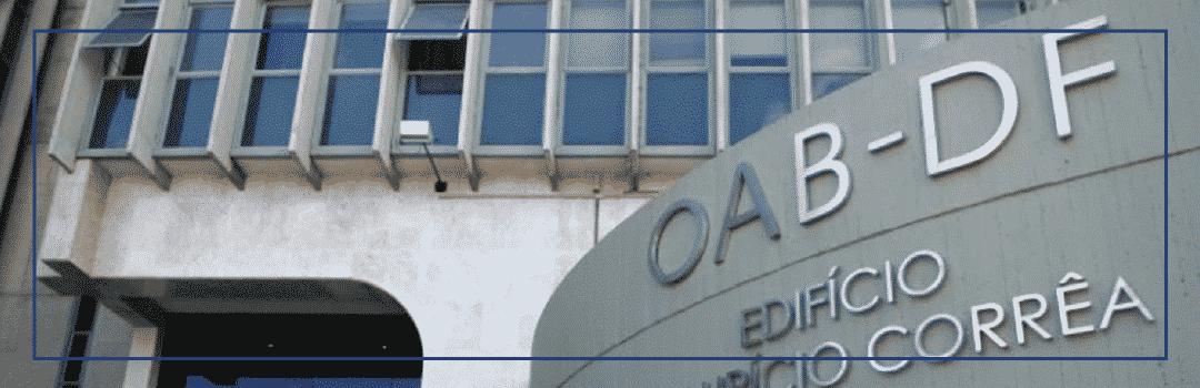 COMISSÕES TEMÁTICAS DA OAB/DF: ASSOCIADO DE BRASÍLIA PARTICIPE!
